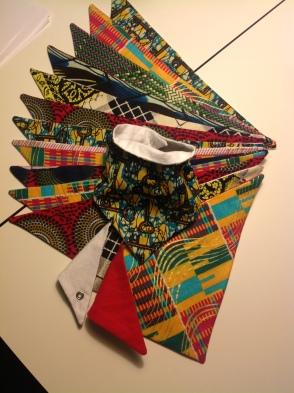 African print dribblers