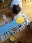 Painting the balloon